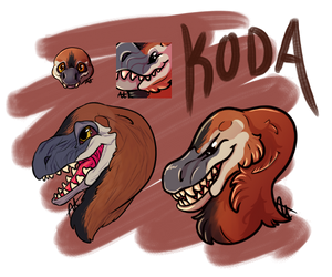 Koda the Dakotaraptor