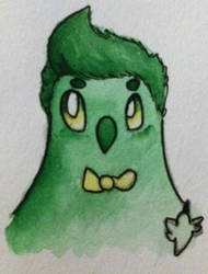 Mr. Green Birb by Olivebirb