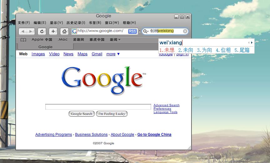 Safari 3.523.4.0 CHS UI