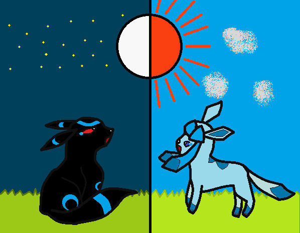 shadow + star '2 worlds apart'