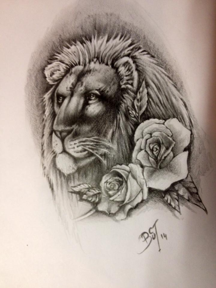 75246560be6f8 lion tattoo design by blacksoulgraphics on DeviantArt