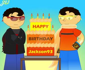 Happy birthday Jackson93(2021)