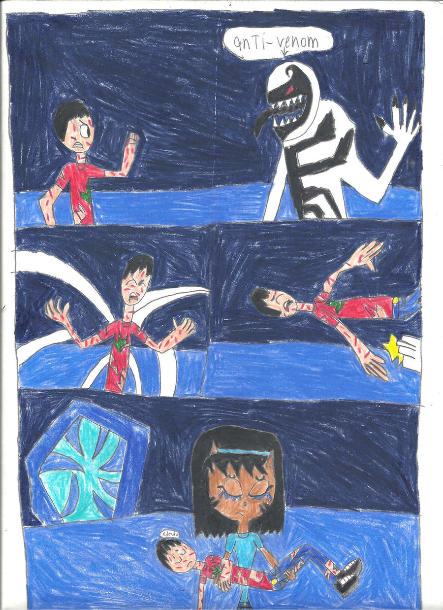 scence from spider man edge of time part 1 by Dinosuarjosh ...