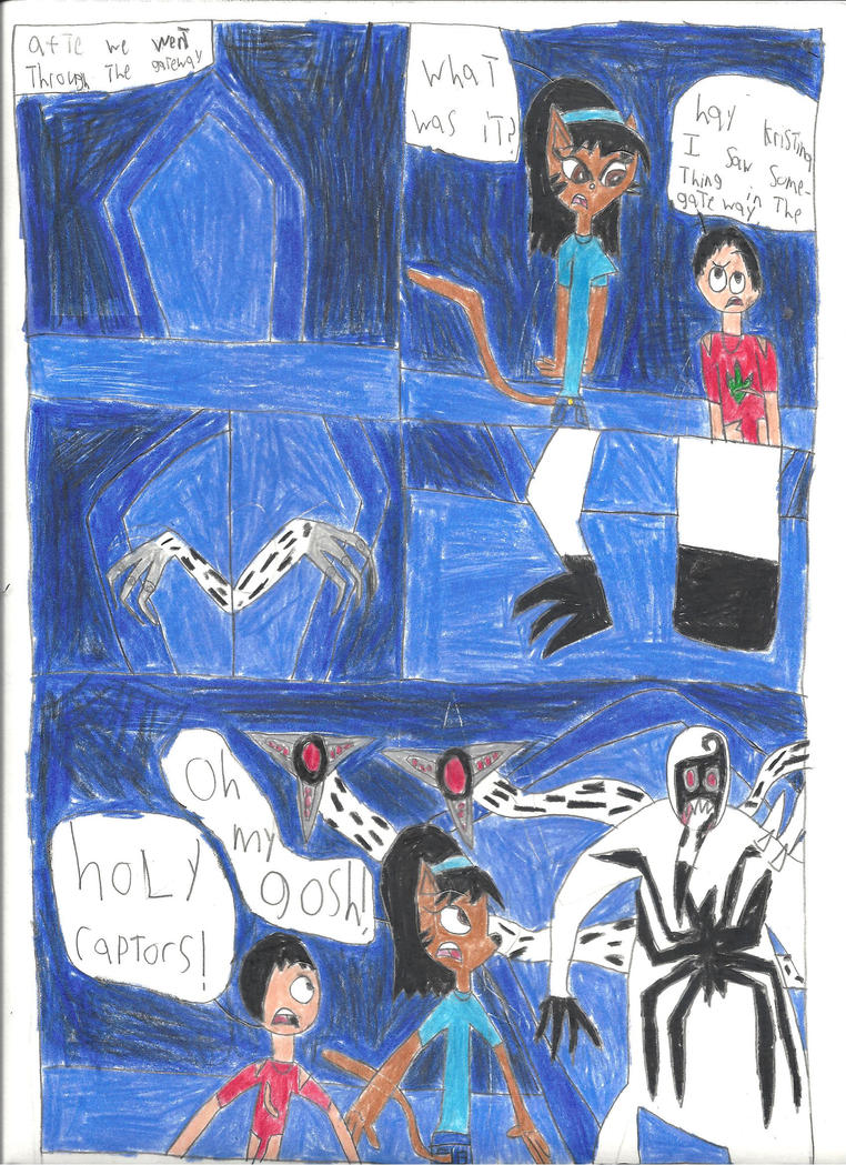 scence from spider man edge of time part 4 by Dinosuarjosh ...