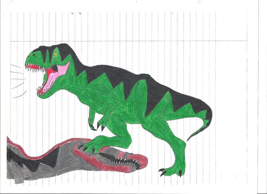 spinosaurus vs t rex size - Siteze