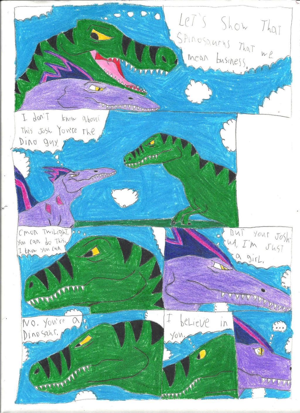 Transformation into Tyrannosaurus Rex page 6 by Maxime