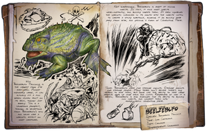Ark: Survival Evolved Dossiers: Beelzebufo