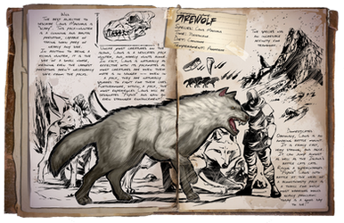 Ark: Survival Evolved Dossiers: Direwolf