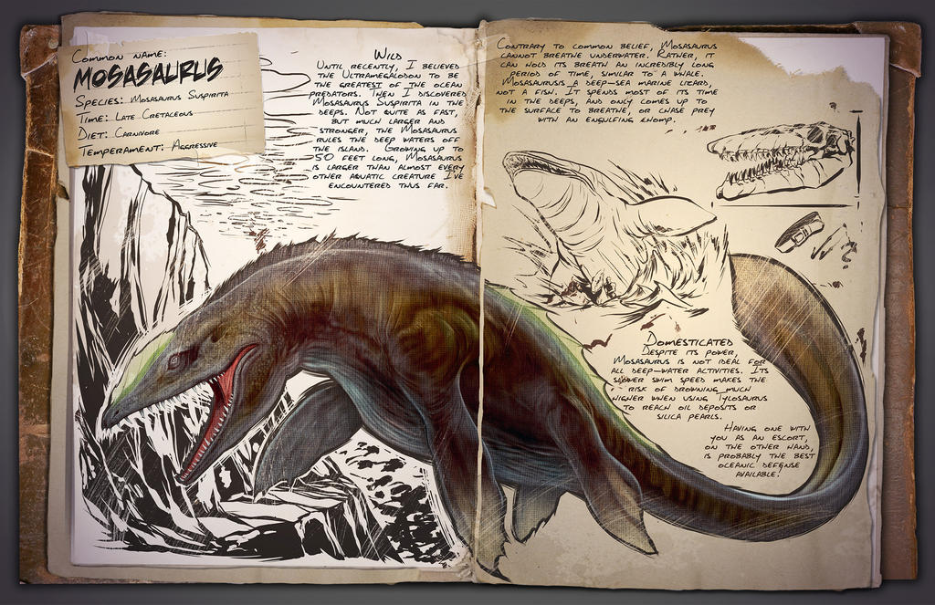 Ark Survival Evolved Dossiers Mosasaurus By Djdinojosh On Deviantart Black pearls are a resource in ark: ark survival evolved dossiers