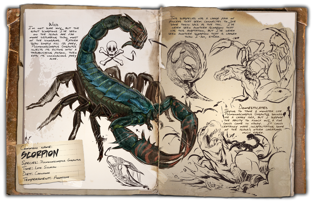 Ts ark survival evolved awesome babes ark survival evolved dossiers pulmonoscorpius by djdinojosh malvernweather Choice Image