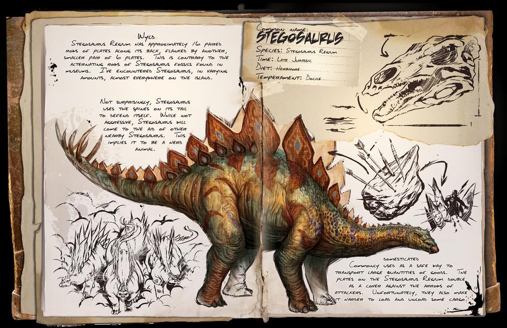 Ark: Survival Evolved Dossiers: Stegosaurus by ...