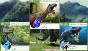 Team Jurassic World!!!!