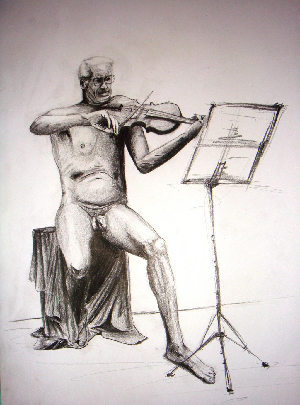 Violin 2012 - Pencil Sketch by Balanyuk on DeviantArt