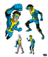 Project Rooftop Invincible Redesign by drawerofdrawings