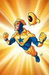 Booster Gold and Skeets