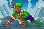 Urtha Vs. The Hulk