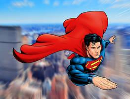 Superman by drawerofdrawings