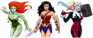 Women of DC Comics