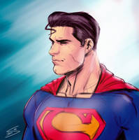 Superman sketch by drawerofdrawings