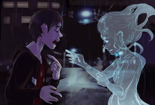 I should have kissed you longer. by Evythi
