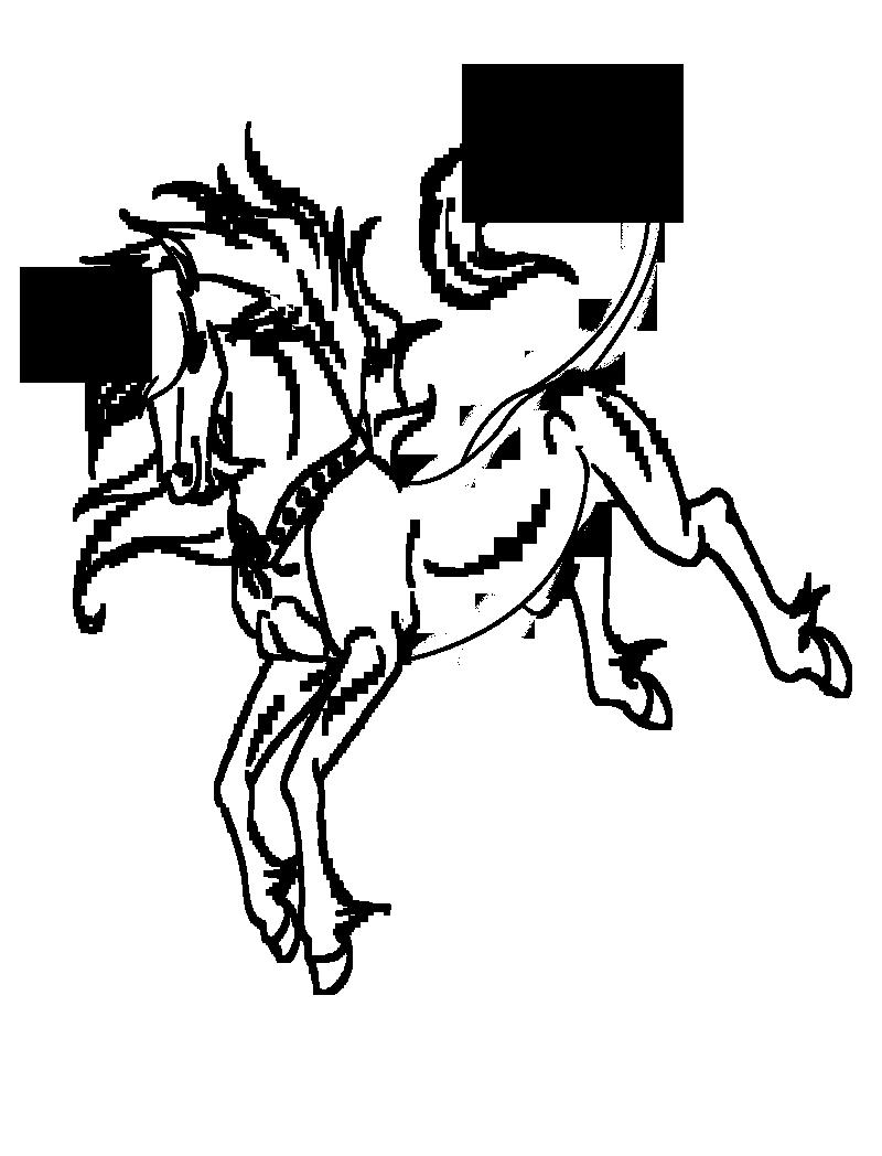 Unicorn Lineart : Unicorn lineart by fargonon on deviantart