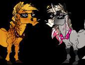 Sugar Rush x Seraphinus Bouncer Showdown by Fargonon