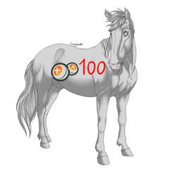Stallion lineart
