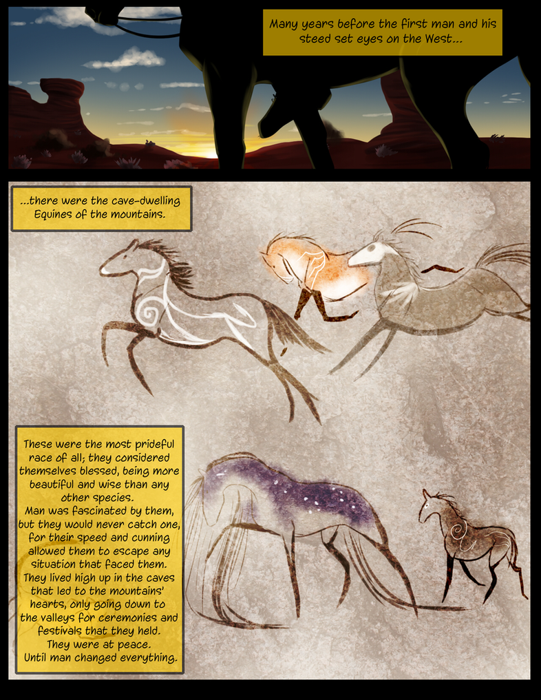 Blindsight: Prologue page 1 by Fargonon