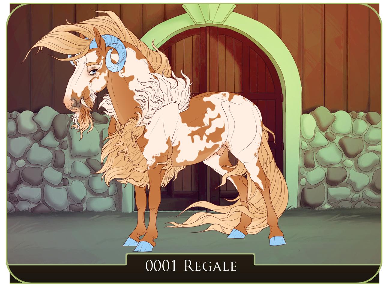 Mascot | 0001 | Regale