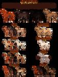 EquusBallator Visual Guide: Chestnut