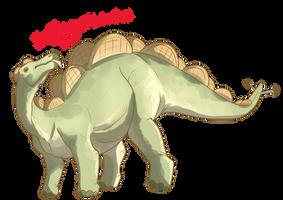 stEGGOsaurus by Fargonon
