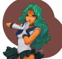 Pretty Sailor Neptune by erinhara
