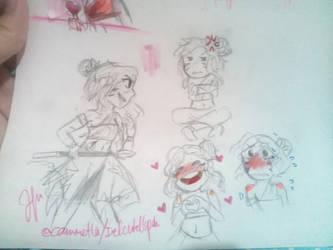Oc Doodles by irelcute16poh