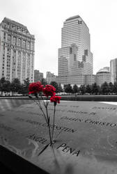 9/11 Memorial in New York by LojZza