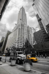 Chrysler Building by LojZza