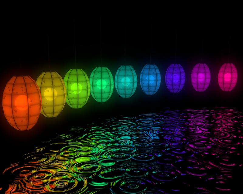 Paper Lanterns - wip2 by carlfoxmarten