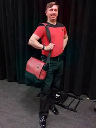 My Star Trek: Next Generation costume... by carlfoxmarten