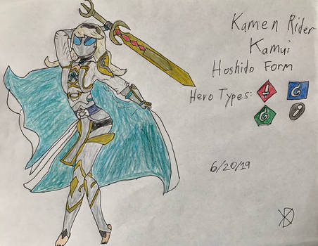 KR Hero Design: Kamui Hoshido Form