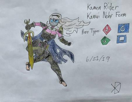 KR Hero Art: Kamui Nohr Form