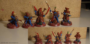 Eldar Pathfinders - Red Rock