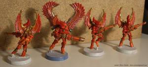 Eldar Swooping Hawks - Phoenix by NPlusPlus