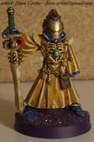 Eldar Spiritseer Warlock by NPlusPlus