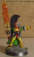 Eldar Harlequin -Troupe Leader