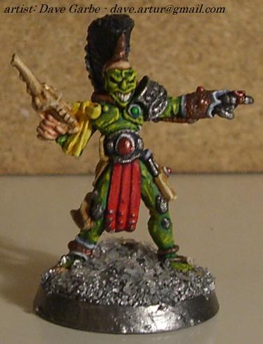 Eldar Harlequin - Orc