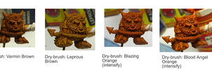 Painting Tutorial - Squig Base