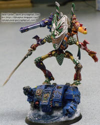 Harlequin Wraithlord by NPlusPlus