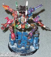 Harlequin Wraithlord Rear by NPlusPlus
