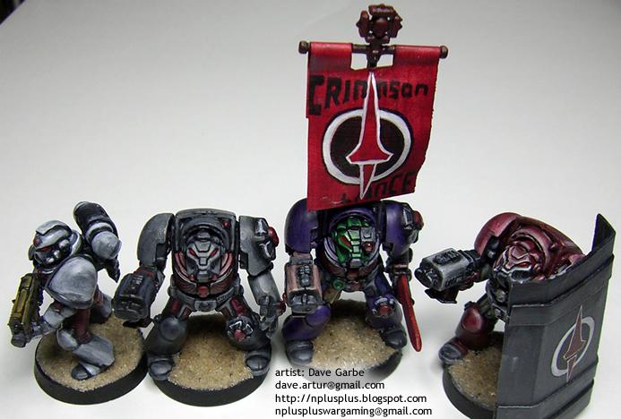 Crimson Lance Space Marines