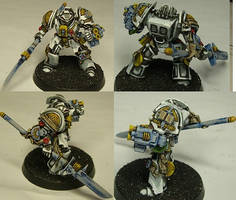 4 Step Painting - Grey Knight by NPlusPlus