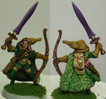 3 Step Painting - Fantasy Elf by NPlusPlus